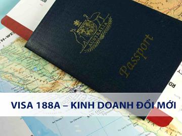 Visa 188A – Kinh doanh đổi mới