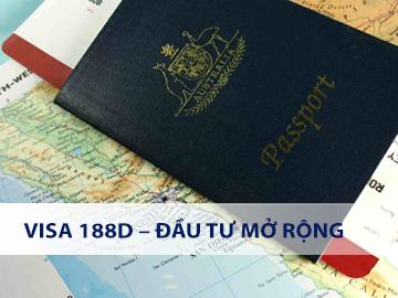 Visa 188D – Đầu tư mở rộng